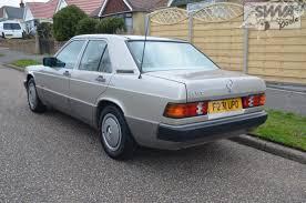 mercedes 190e auto 1989 south western vehicle auctions ltd