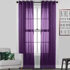 Coloured Curtains The Window Treatments To Match Black And White Walls