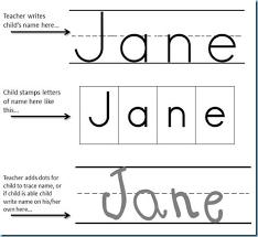 handwriting name worksheets for preschoolers worksheets