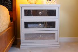 Affordable Mirrored Nightstand Bedroom Charming Ikea Nightstand For Bedroom Furniture Idea