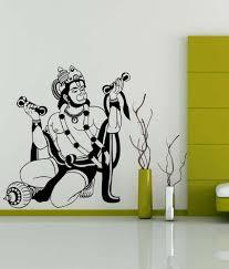 trends on wall black pvc hanuman ji wall sticker art pinterest trends on wall black pvc hanuman ji wall sticker