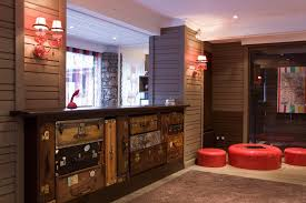 Vintage Reception Desk Hotel Chic Design Lessons From Hotel Ormelune In The French Alps
