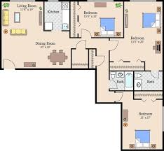 Three Bedroom Apartments In Queens by Queens Park Plaza Apartments Rentals Hyattsville Md