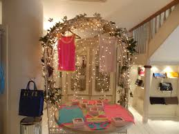 splendid room with good fairy room decor including metal canopy to