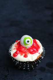 eyeball cake a and a glue gun