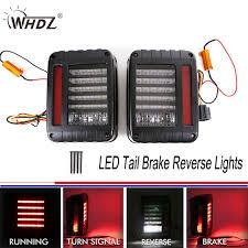 jeep wrangler backup lights led tail brake reverse lights backup rear reverse light assembly kit