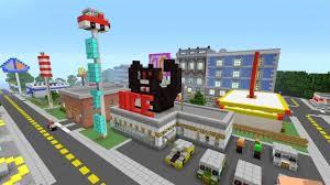 Modern City Minecraft Xbox 360 Modern City Spanklechank U0027s World Tour