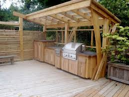 pergola design awesome house with outdoor kitchen deck kitchen