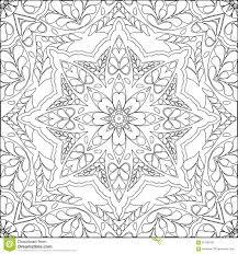 coloring page mandala stock vector image 67398186
