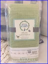 Peter Rabbit Pottery Barn Nwt Pottery Barn Kids 3pc Beatrix Potter Crib Skirt Sheet Sham