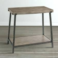 end table with outlet side table with outlets vintage l attached tables end recliner