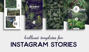 free resume template layout majalah png background effects indesign 20 brilliant instagram story templates for brands bloggers