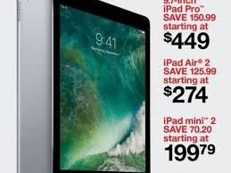 apple deals black friday target black friday ad arrives with apple ipad pro for 449 ipad