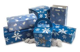 fudge gift boxes mod pac stock packaging blue pattern candy boxes fudge