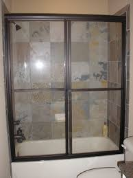 framed shower doors by tj