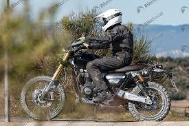 triumph motocross bike spotted new triumph scrambler 1200