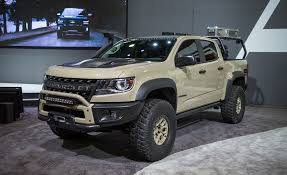 concept off road truck the chevrolet colorado zr2 aev concept is seriously hard core