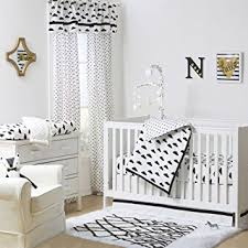 Black And White Crib Bedding For Boys Black And White Cloud Print 4 Baby Crib Bedding