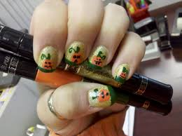 halloween nail art designs short nail designs
