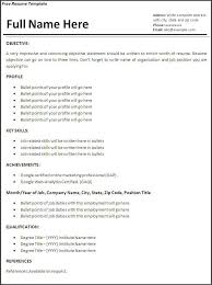 Job Objective Statement For Resume Free Resume Objective Statements Resume Template And