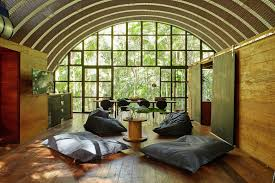 Arched Cabins by Gallery Arca An Arched Retreat In The Brazilian Rainforest