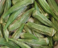 Okra Plant Diseases - okra frozen ingredients descriptions and photos an all