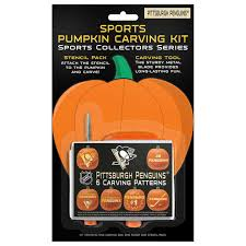 pumpkin carving kits pittsburgh penguins pumpkin carving kit shop nhl