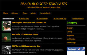 black blogger templates kaizentemplate rebuild another awesome