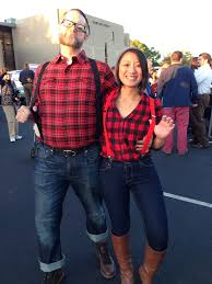 lumberjack costume did you see what that baby is wearing sylvia s