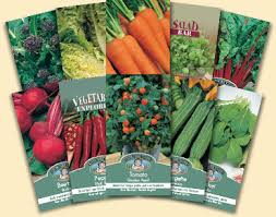seed packets your complete allotment
