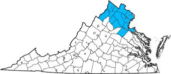 Northern Virginia County Map by Home Angel U0027s Bail Bonds Manassas Va