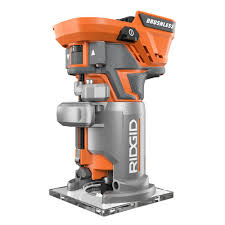 Fine Woodworking Compact Router Review by Ridgid 18 Volt Brushless Compact Router R86044b The Home Depot