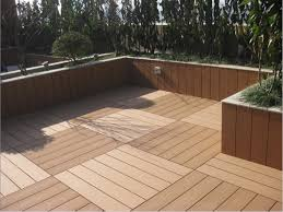 Wood Patio Flooring by Outdoor Deck Flooring Materials Deck Design And Ideas
