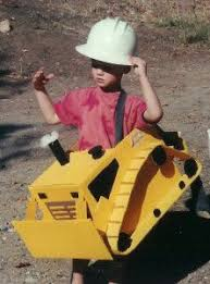 Halloween Costume Construction Worker Diy Bulldozer Costume Step Step Instructions Easy