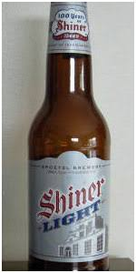 shiner light blonde carbs shiner light spoetzl brewery shiner beeradvocate