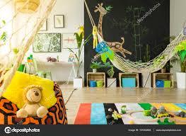 chambre enfant jungle chambre d enfant jungle avec hamac photographie photographee eu