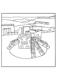 squid and spider minecraft coloring pages free printable
