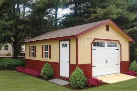pre built u0026 custom garages cedar craft storage solutions
