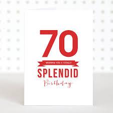 splendid 70 u0027 birthday card u2013 doodlelove