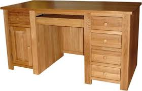 Solid Computer Desk Solid Oak Desk Oak Desk Walnut Solid Wood Cherrywood Picard By