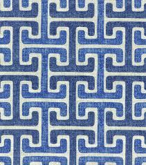 home decor print fabric swavelle millcreek chiara sussex denim
