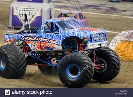 new monster truck new orleans la usa 20th feb 2016 fatal attraction monster truck