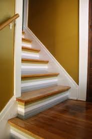 Staircase Laminate Flooring How To Paint Stripes On Stairs Merrypad