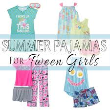summer pajamas for tween omg gift emporium