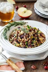 cranberry apple pecan rice pilaf carlsbad cravings