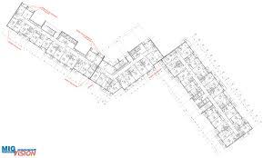 3d visualization of the building on the street glukharskaya