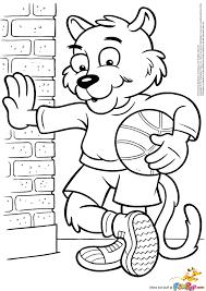 coloring page basketball basketball cat 0 00 basketball mom pinterest digital image