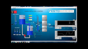 labview scada vi for watertank flow control youtube