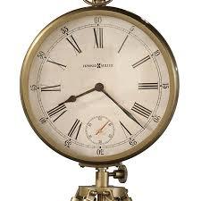 Amazon Mantle Clock Distressed Classic Brass Tripod Mantel Clock