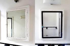 bathroom medicine cabinet makeover lauren mechelle